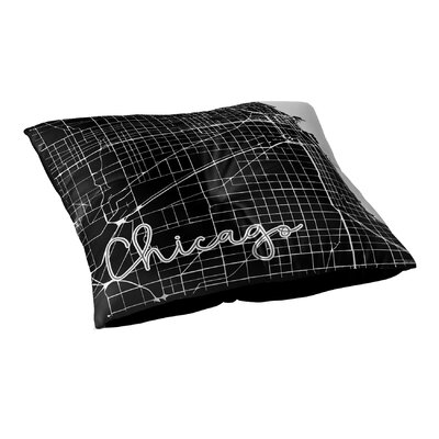 Chicago Floor Pillow Size: 26 H x 26 W x 12.5 D