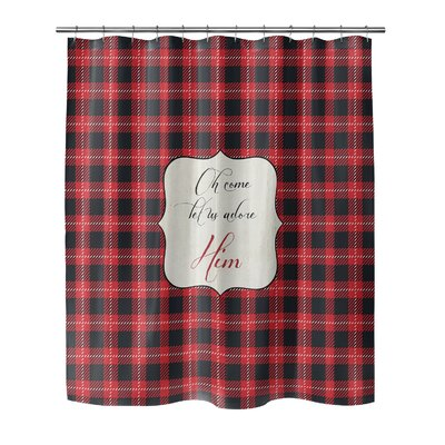 Adore Him 72 Shower Curtain