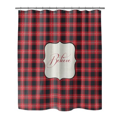 Believe 72 Shower Curtain