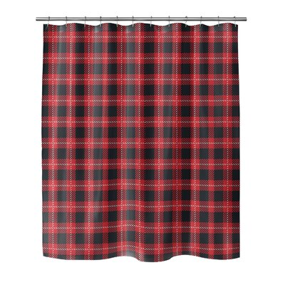 Christmas in Plaid 90 Shower Curtain