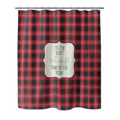 The Most Wonderful Time 90 Shower Curtain