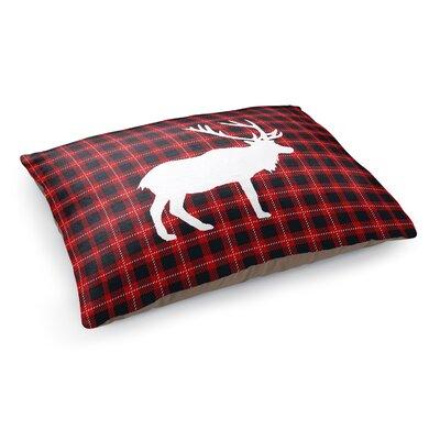 Deer Plaid Pet Pillow