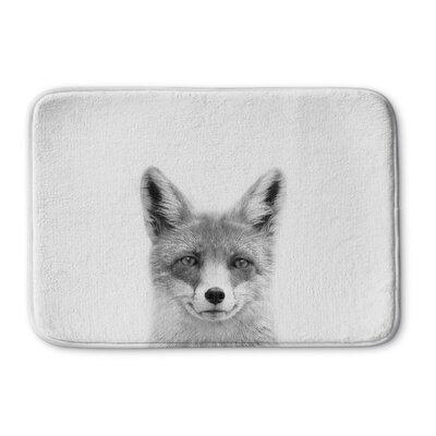 Truong Fox Memory Foam Bath Rug Size: 24 W x 36 L