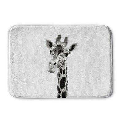 Truss Giraffe Memory Foam Bath Rug Size: 24 W x 36 L