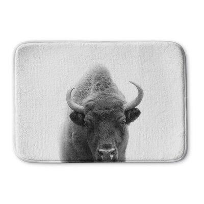 Trussell Buffalo Memory Foam Bath Rug Size: 24 W x 36 L