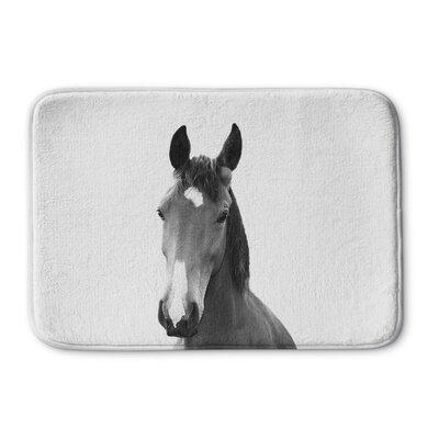 Tsang Horse Memory Foam Bath Rug Size: 24 W x 36 L
