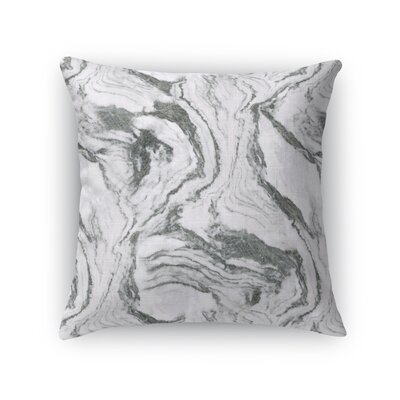 Dalessio Marble Throw Pillow Size: 18 H x 18 W