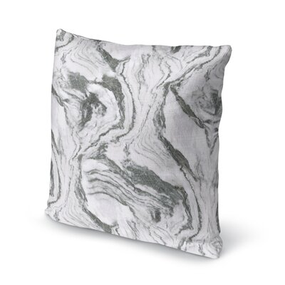 Dalessio Marble Throw Pillow Size: 16 H x 16 W