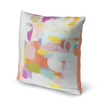 Dalessandro Flow Indoor Throw Pillow Size: 16 H x 16 W
