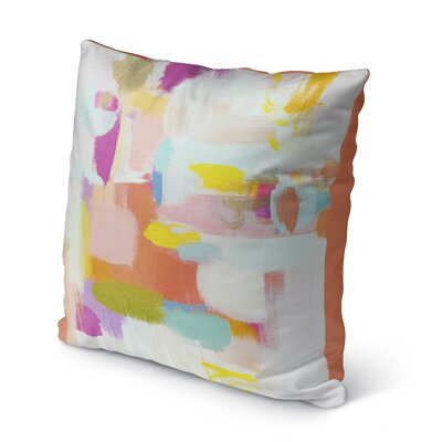 Wandy Outdoor Throw Pillow Size: 16 H x 16 W