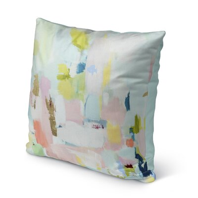 Dalessandro Luck Outdoor Throw Pillow Size: 16 H x 16 W