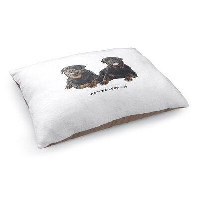 Julian Rottweilers Pet Pillow