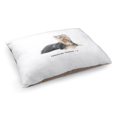 Josiah Yorkshire Terrier Pet Pillow
