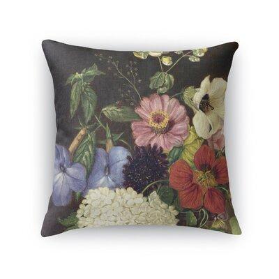 Bilodeau Blanket Flower Throw Pillow Size: 16 H x 16 W x 6 D
