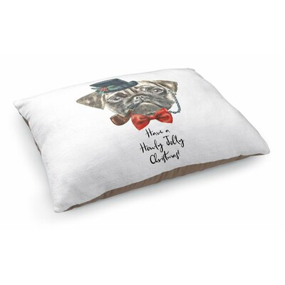 June Have A Holy Jolly Christmas Pet Pillow