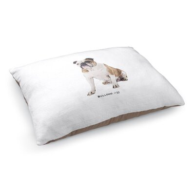 Kaley Bulldog Pet Pillow