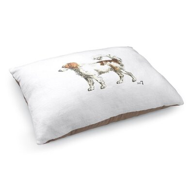 Kale Dog Wall Art Pet Pillow