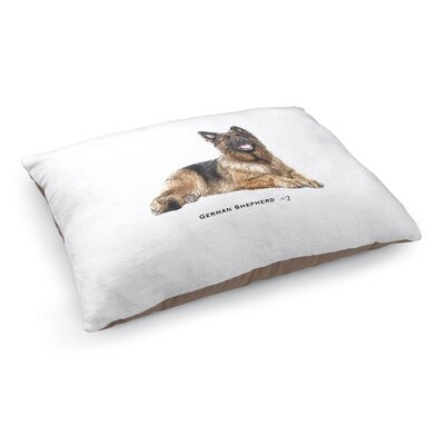 Justina German Shepherd Pet Pillow