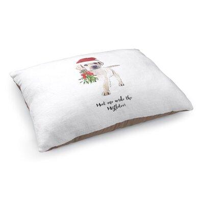 Juliet Meet Me Under The Mistletoe Dog Pillow
