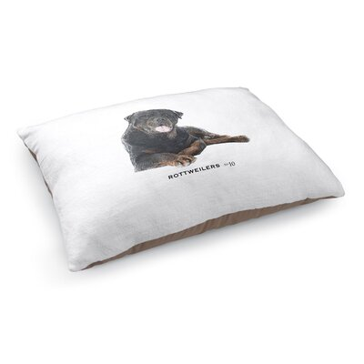 Julia Rottweilers Pet Pillow