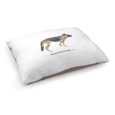 Justin German Shepherd Pet Pillow