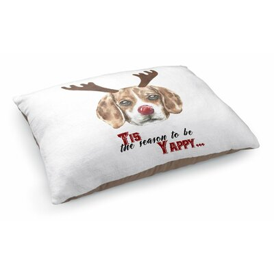 Joyner Tis The Season To Be Yappy Pet Pillow