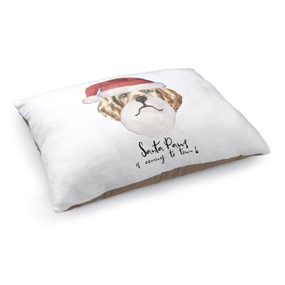 Jude Santa Paws Is Coming To Town Pet Pillow