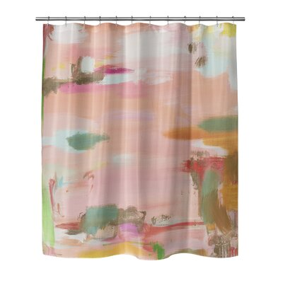 Online Fishing Shower Curtain Size: 70 H x 90 W