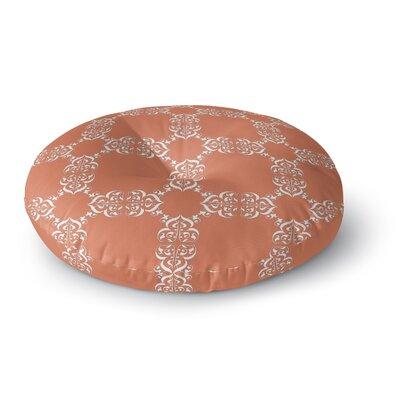 Edlin Tangerine Outdoor Floor Pillow Size: 23 x 23
