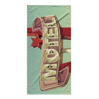 Bellingham Motel Beach Towel