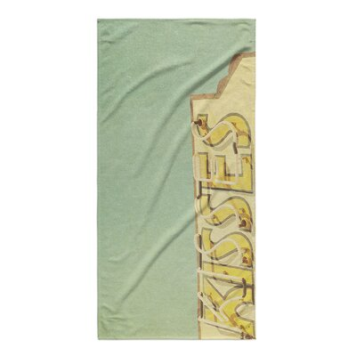 Temple Kisses Beach Towel