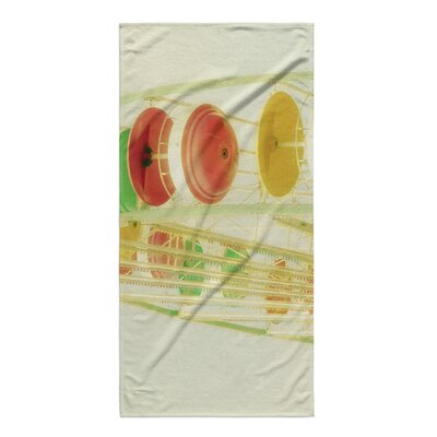 Drewniak Gumdrops Beach Towel