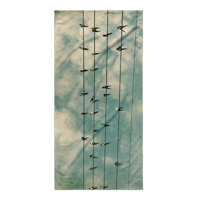 Segura Flock Beach Towel