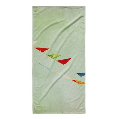 Toms Flags Beach Towel