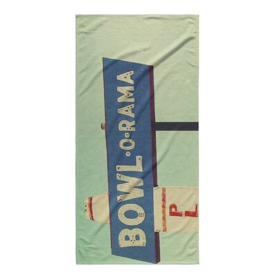 Tonnele Bowl-O-Rama Beach Towel