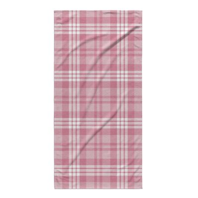 Kai Plaid Beach Towel
