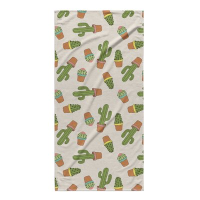 Geter Cactus Beach Towel