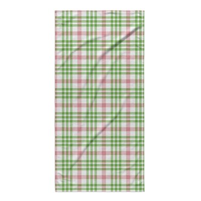 Pascual Plaid Beach Towel