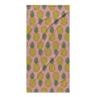 Rashad Pineapple Beach Towel