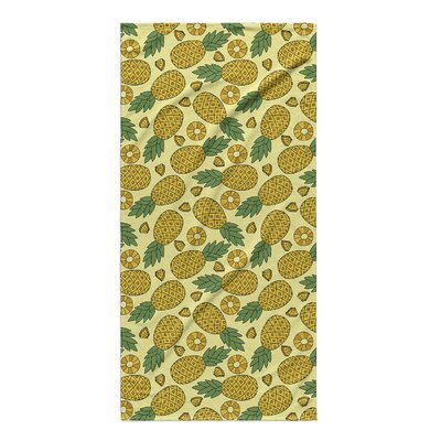 Jovan Pineapple Beach Towel