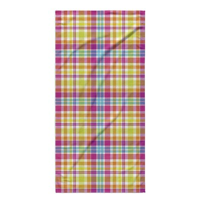 Joiner Plaid Beach Towel