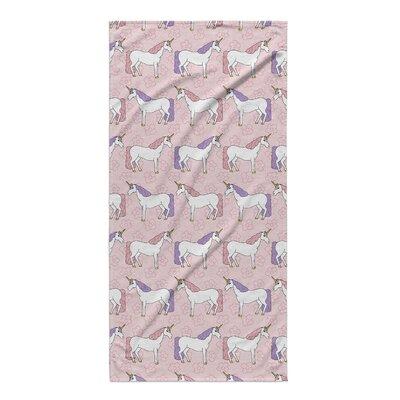 Minnich Unicorns Beach Towel