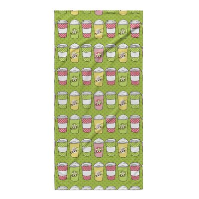 Johannes Latte Beach Towel