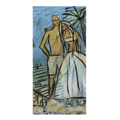 Ammeson Mr & Mrs Cuteness Beach Towel