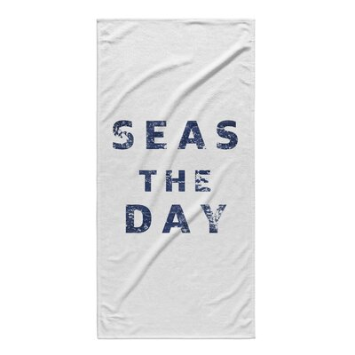 Lovitt Seas The Day Beach Towel