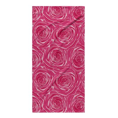 Botti Bed of Roses Beach Towel