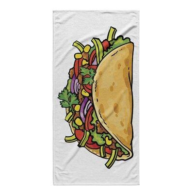 Rocheleau Taco Beach Towel