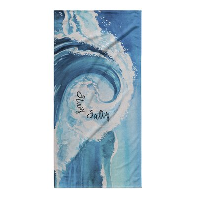 Modica Stay Salty Beach Towel