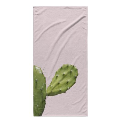 Bandla Cactus Closeup Beach Towel