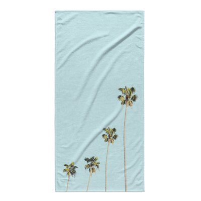 Tong Four Palms Beach Towel